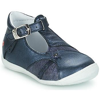 Pantofi Fete Balerin și Balerini cu curea GBB STEPHANIE Albastru