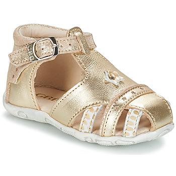 Încăltăminte Fete Sandale și Sandale cu talpă  joasă GBB SUZANNE Auriu