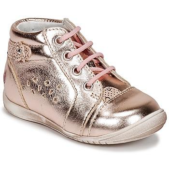 Pantofi Fete Pantofi sport stil gheata GBB SIDONIE Roz / Auriu