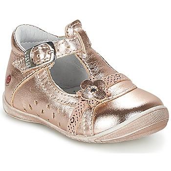 Pantofi Fete Balerin și Balerini cu curea GBB SIXTINE Roz / Auriu