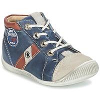 Pantofi Băieți Pantofi sport stil gheata GBB SILVIO Bleumarin / Maro