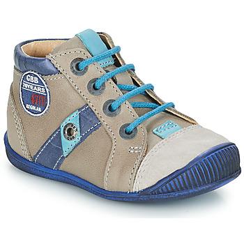 Pantofi Băieți Ghete GBB SILVIO Bej / Albastru