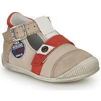 Încăltăminte Băieți Sandale și Sandale cu talpă  joasă GBB STANISLAS Vtc / Bej-roșu / Dpf / Raiza