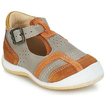 Pantofi Băieți Sandale și Sandale cu talpă  joasă GBB SIGMUND Taupe / Coniac