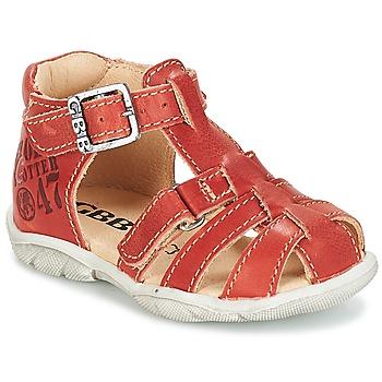 Pantofi Băieți Sandale  GBB PRIGENT Vte / Maro ruginiu / Dpf / Filou