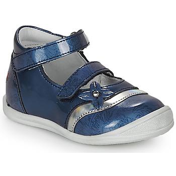 Încăltăminte Fete Sandale și Sandale cu talpă  joasă GBB STACY Vvn / Albastru-imprimat / Dpf / Zafra