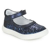Pantofi Fete Balerin și Balerini cu curea GBB SAKURA Albastru / Bleumarin