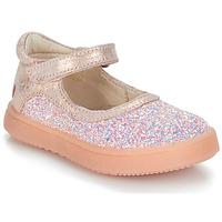 Pantofi Fete Balerin și Balerini cu curea GBB SAKURA Roz