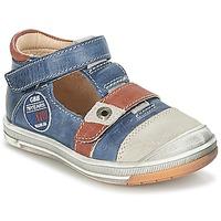 Pantofi Băieți Sandale  GBB SOREL Bleumarin / Maro