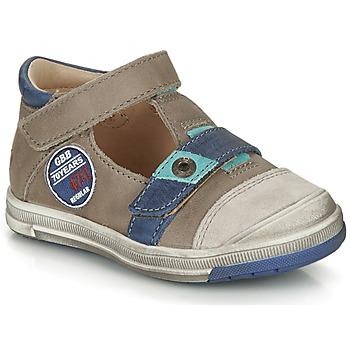 Pantofi Băieți Sandale și Sandale cu talpă  joasă GBB SOREL Vtc /  taupe-albastru / Dpf / Flash