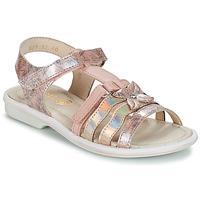 Pantofi Fete Sandale și Sandale cu talpă  joasă GBB SCARLET Roz