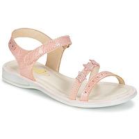 Pantofi Fete Sandale și Sandale cu talpă  joasă GBB SWAN Roz