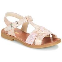 Pantofi Fete Sandale și Sandale cu talpă  joasă GBB SHANTI Roz