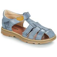 Pantofi Băieți Sandale și Sandale cu talpă  joasă GBB PATERNE Albastru