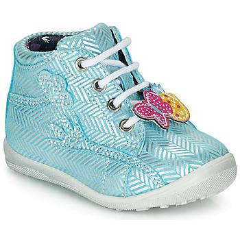 Pantofi Fete Pantofi sport stil gheata Catimini SALAMANDRE Albastru / Argintiu