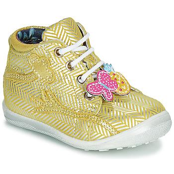 Pantofi Fete Pantofi sport stil gheata Catimini SALAMANDRE Galben