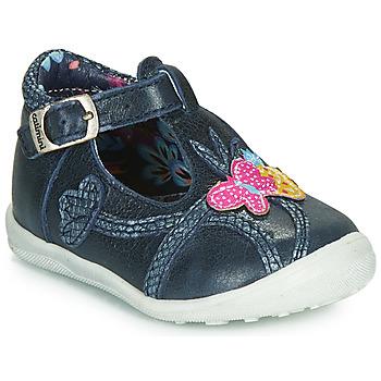 Pantofi Fete Balerin și Balerini cu curea Catimini SOLEIL Bleumarin