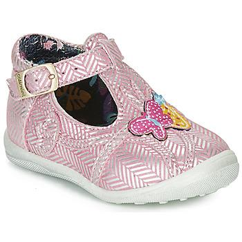Pantofi Fete Balerin și Balerini cu curea Catimini SOLEIL Roz