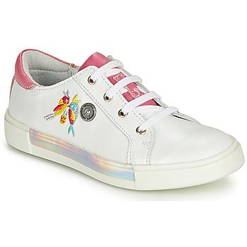 Încăltăminte Fete Pantofi sport stil gheata Catimini SYLPHE Alb-roz / Dpf / Alb