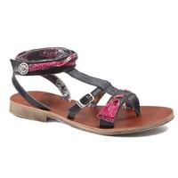 Încăltăminte Fete Sandale și Sandale cu talpă  joasă Catimini SABRALIA Vte /  marine-fushia / Dpf / Coca