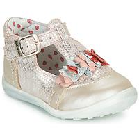 Pantofi Fete Balerin și Balerini cu curea Catimini SALICORNE Roz