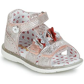 Pantofi Fete Sandale și Sandale cu talpă  joasă Catimini STEVIA Roz