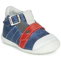 Pantofi Băieți Sandale  Catimini SESAME Albastru / Roșu