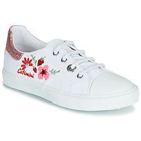 Pantofi Fete Pantofi sport Casual Catimini SAXIFAGE Alb