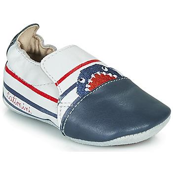 Pantofi Băieți Papuci de casă Catimini SIMOCYBE Bleumarin / Alb / Roșu
