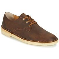 Încăltăminte Bărbați Pantofi Derby Clarks DESERT CROSBY Maro