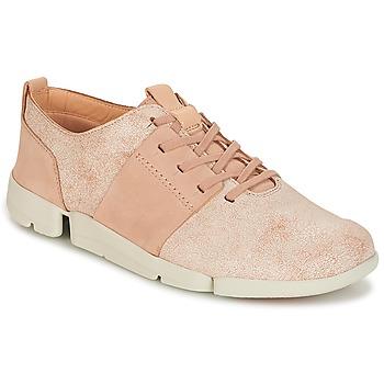 Încăltăminte Femei Pantofi sport Casual Clarks TRI CAITLIN Roz