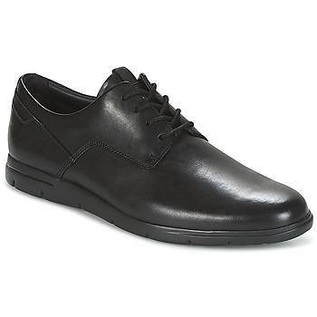 Pantofi Bărbați Pantofi Derby Clarks VENNOR WALK Negru