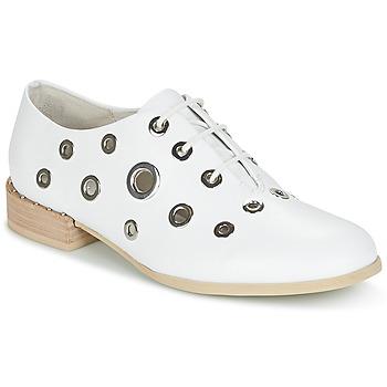 Pantofi Femei Pantofi Derby Café Noir IVET Alb