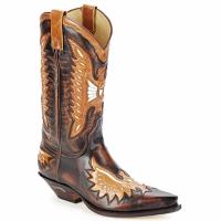 Pantofi Bărbați Cizme casual Sendra boots CHELY Maro