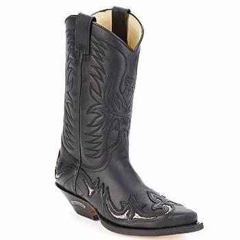 Pantofi Cizme casual Sendra boots CLIFF Negru