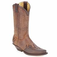 Pantofi Cizme casual Sendra boots BUNDA Maro