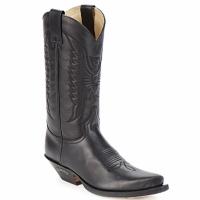 Pantofi Cizme casual Sendra boots FLOYD Negru