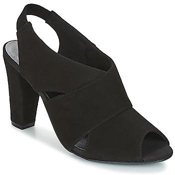 Pantofi Femei Sandale și Sandale cu talpă  joasă KG by Kurt Geiger FOOT-COVERAGE-FLEX-SANDAL-BLACK Negru