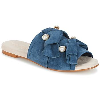Pantofi Femei Papuci de vară KG by Kurt Geiger NAOMI-BLUE Albastru