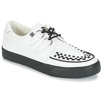 Încăltăminte Pantofi sport Casual TUK CREEPERS SNEAKERS Alb / Negru