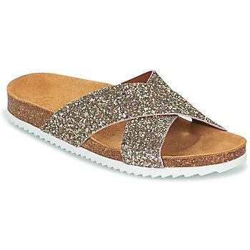 Pantofi Femei Papuci de vară Le Temps des Cerises FALONE Glitter