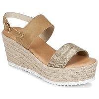 Pantofi Femei Sandale și Sandale cu talpă  joasă Casual Attitude INUIL Auriu / Maro