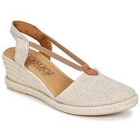 Pantofi Femei Sandale și Sandale cu talpă  joasă Casual Attitude IPOP Auriu