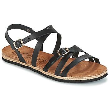 Pantofi Femei Sandale și Sandale cu talpă  joasă Casual Attitude ILMEM Negru