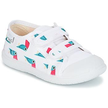 Pantofi Fete Pantofi sport Casual Citrouille et Compagnie GLASSIA Alb