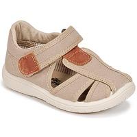 Pantofi Băieți Sandale  Citrouille et Compagnie GUNCAL Bej