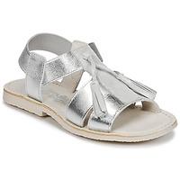 Încăltăminte Fete Sandale și Sandale cu talpă  joasă Citrouille et Compagnie INAPLATA Argintiu