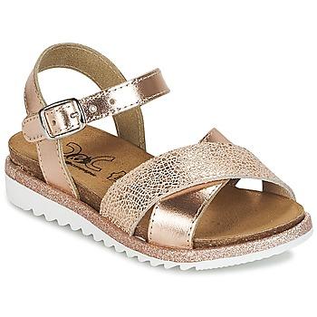 Pantofi Fete Sandale  Citrouille et Compagnie GAUFRETTE Bronz