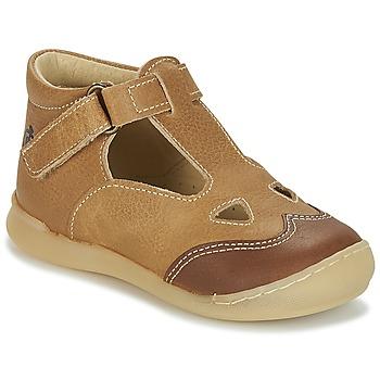 Pantofi Băieți Sandale și Sandale cu talpă  joasă Citrouille et Compagnie IARTIALAN Maro