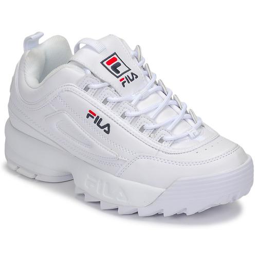Pantofi Femei Pantofi sport Casual Fila DISRUPTOR LOW WMN Alb